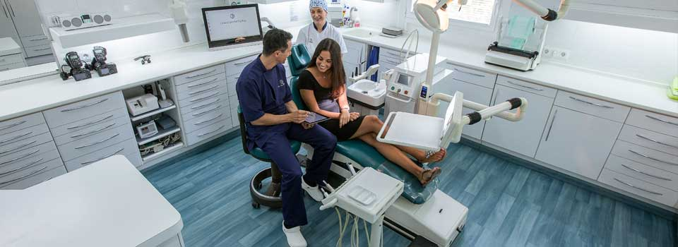The patients of Padrós Dental Clinic in Barcelona can be sure that they will receive a great clinical experience