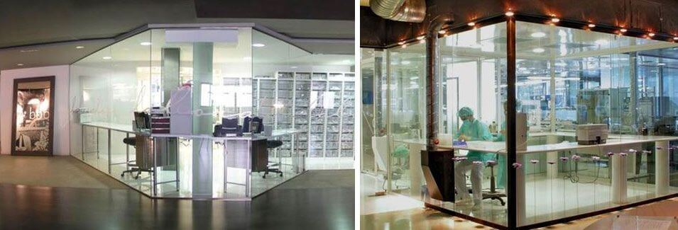 Facilities and laboratories of Soadco. They manufacture the dental implants we use at the Padrós dental clinic in Barcelona