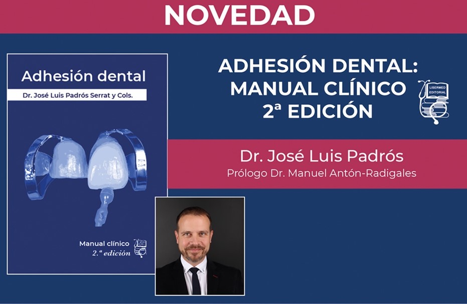 Cover of the book Dental adhesion, guidelines for clinical performance. Book publication by Ed. Specialized European Editions 2009
